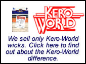 Kero-World Wicks